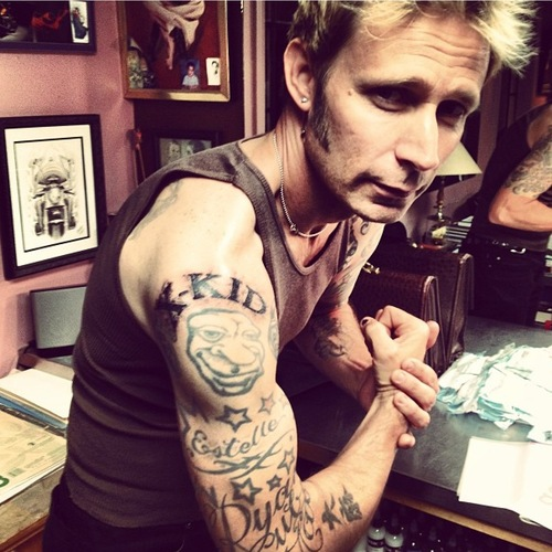 See Mike Dirnt's new trilogy-inspired tattoo!