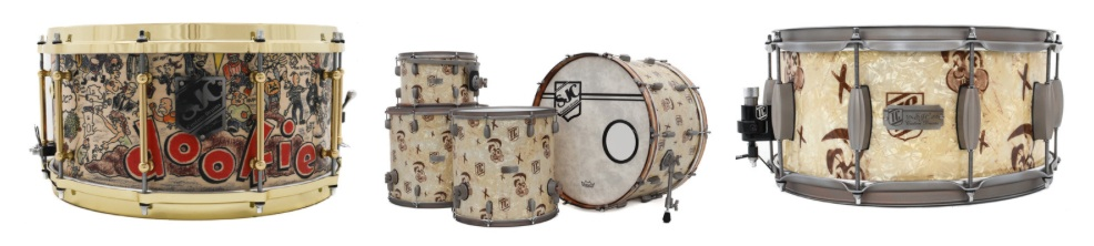 Tré Cool's signature SJC drum kit now available for purchase