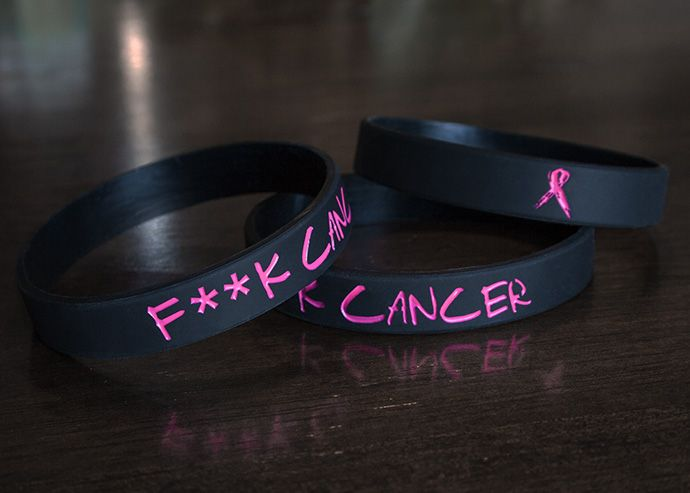 Breast cancer arm bands