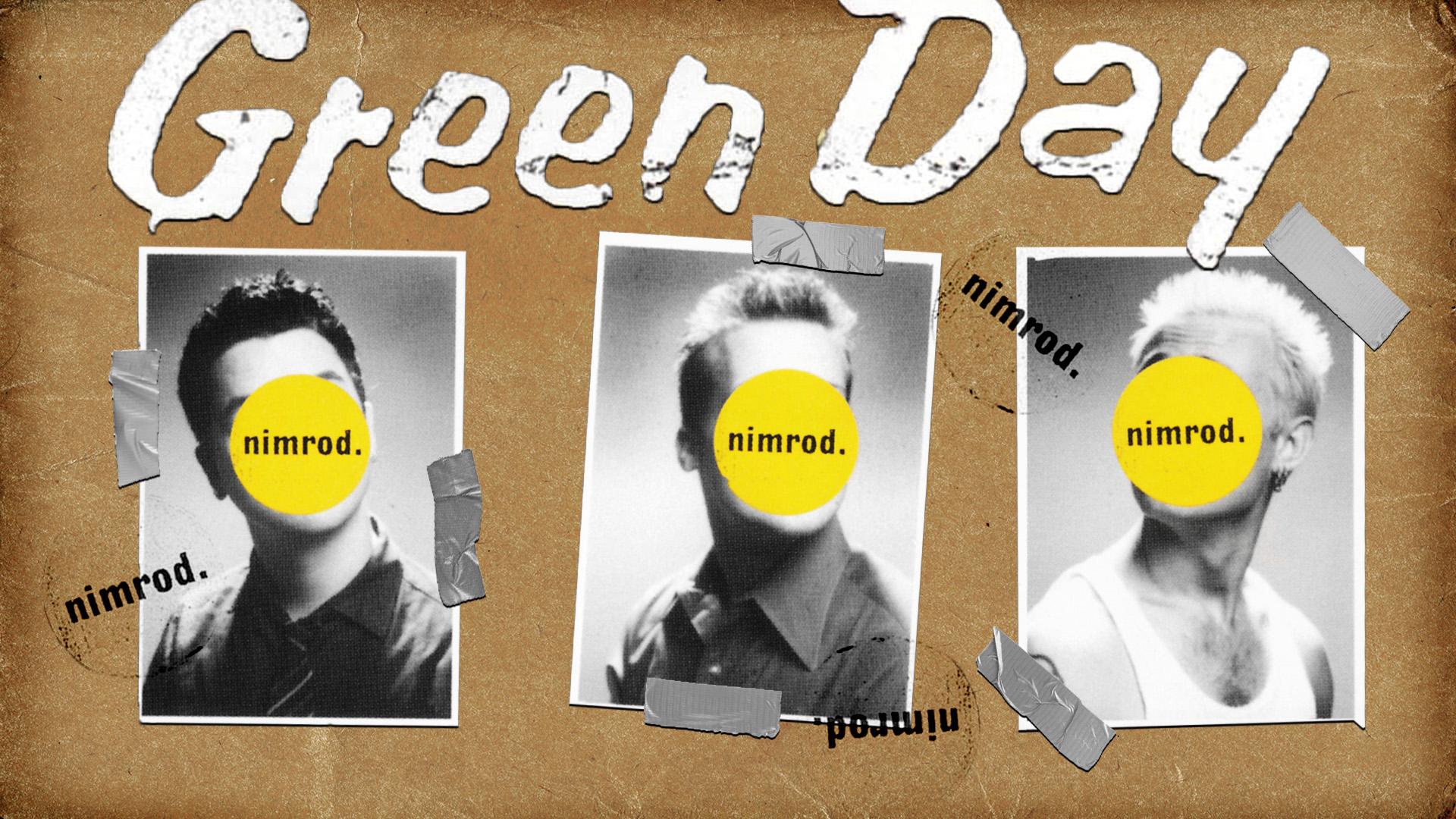 Green Day Nimrod - Green Day Wallpaper