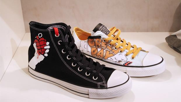 Converse releasing American Idiot & Dookie shoes next year